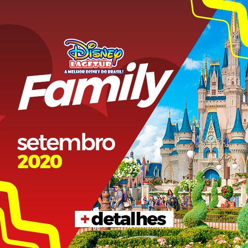 Disney Family Setembro Pacotes Esclusivos Lagetur 2020